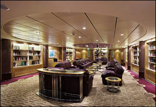 Library on Brilliance of the Seas