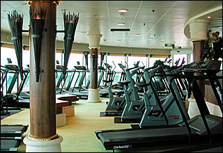 Day Spa and Fitness Center on Brilliance of the Seas