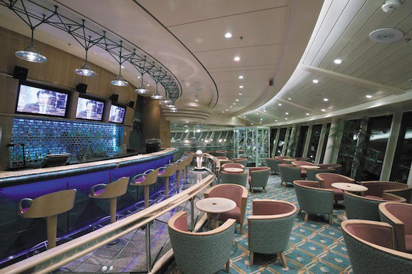 Viking Crown Lounge on Brilliance of the Seas