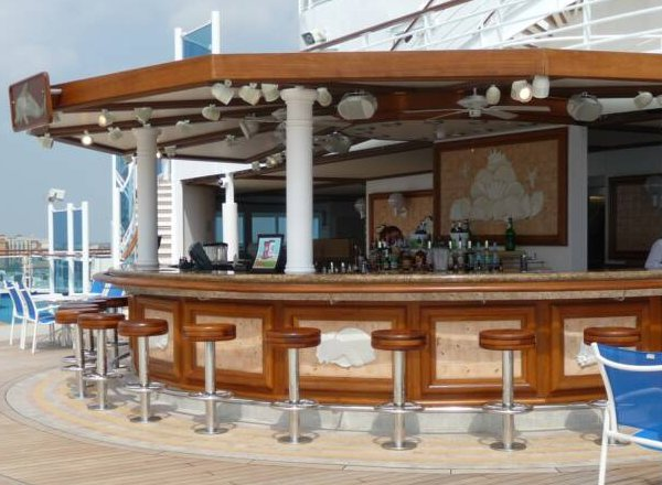 Blackbeard''s Bar on Caribbean Princess