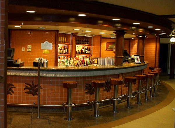Outrigger Bar on Caribbean Princess