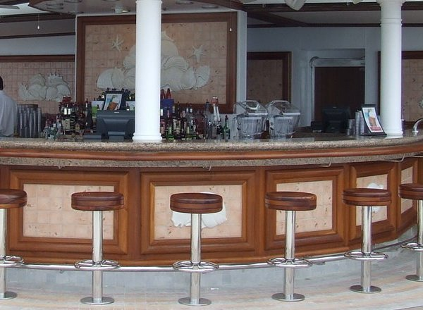 Tradewinds Bar on Caribbean Princess