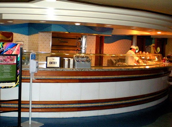 Prego''s Pizzaria on Caribbean Princess