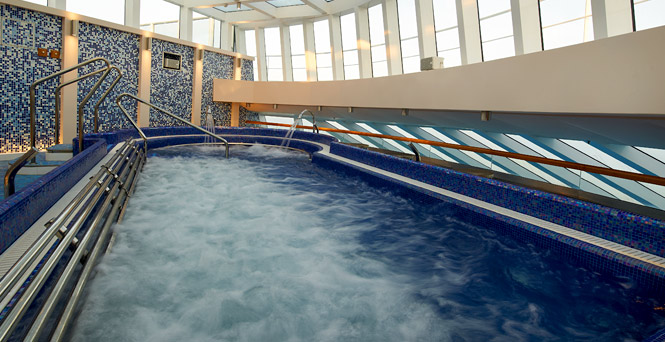 Tepidarium on Carnival Breeze