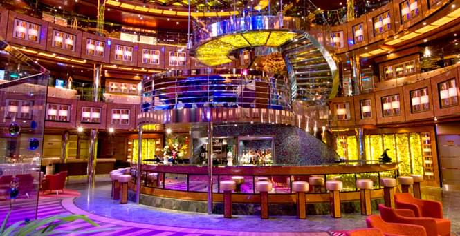 Atrium Bar on Carnival Breeze