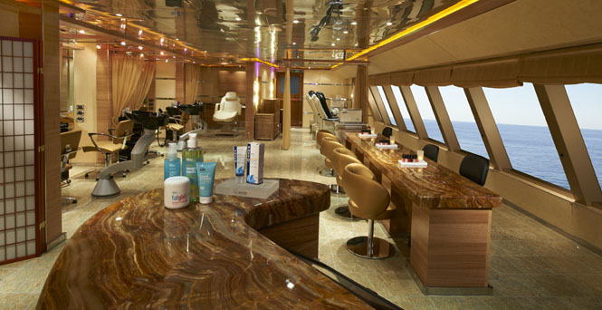 The Salon on Carnival Breeze