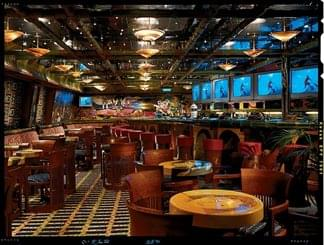 EA Sports Bar on Carnival Conquest