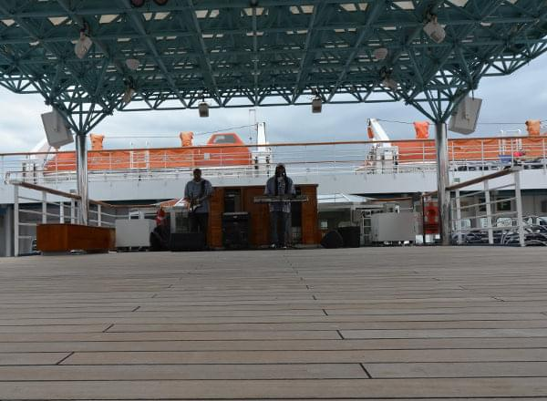 Bandstand on Carnival Dream