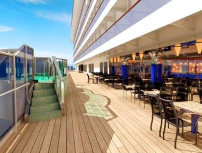 The Lanai on Carnival Dream