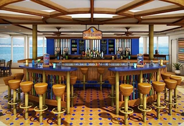 Blue Iguana Tequila Bar on Carnival Dream