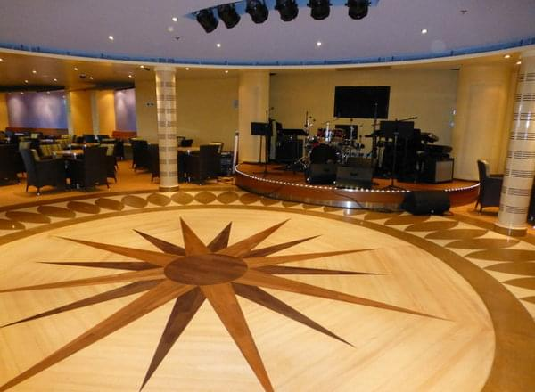 Dance Floor on Carnival Dream