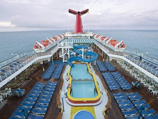 Pool on Carnival Elation