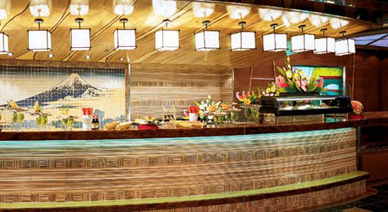 Sushi Bar on Carnival Elation