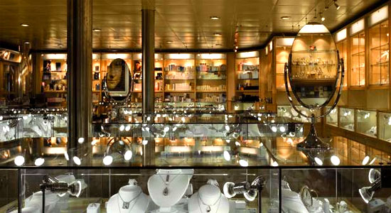 Jewelry Shop on Carnival Elation