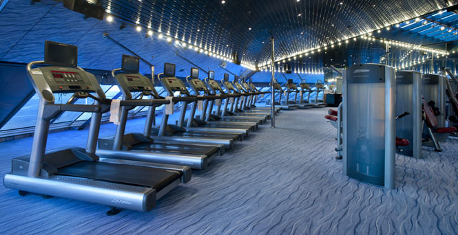 Gymnasium/Aerobics on Carnival Fantasy