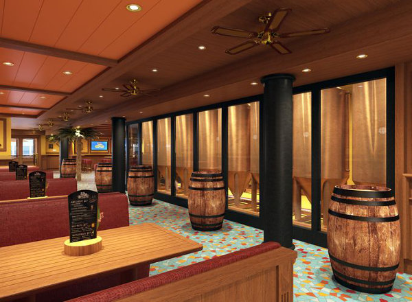 Redfrog Rum Bar on Carnival Fantasy