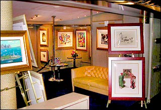Art Gallery on Carnival Fantasy