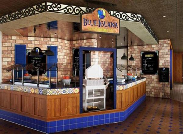 Blue Iguana Cantina on Carnival Freedom