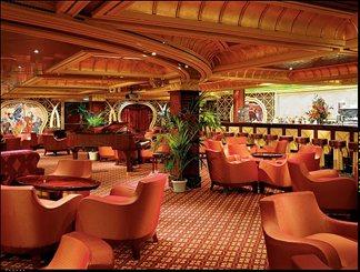 Ivory Club Bar on Carnival Glory