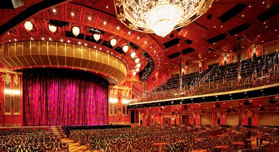 Amber Palace Main Lounge on Carnival Glory