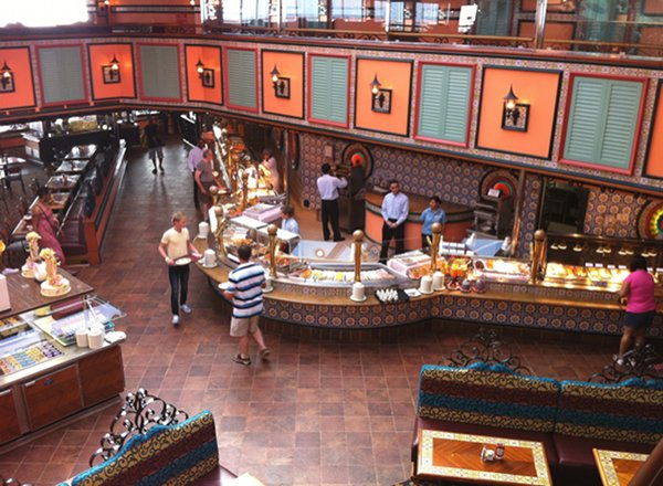 Grand Buffet on Carnival Imagination