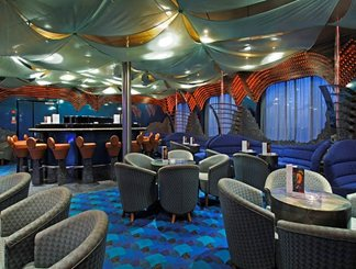 Rhapsody In Blue Piano Bar on Carnival Inspiration
