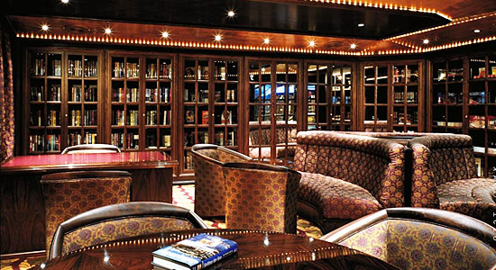 The Holmes Library on Carnival Legend
