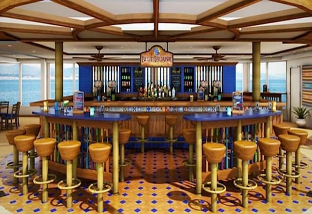 Blue Iguana Tequila Bar on Carnival Liberty