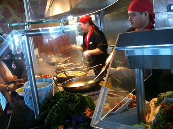 Mongolian Wok on Carnival Liberty