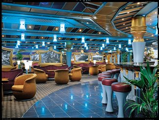 Jeeves Lounge on Carnival Miracle