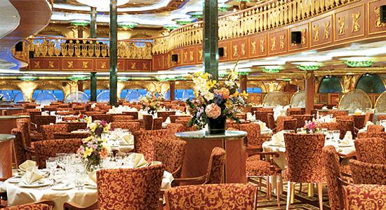 Empire Restaurant on Carnival Spirit