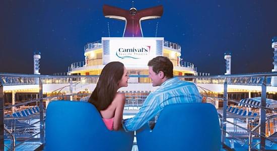 Carnival SeasideTheater on Carnival Triumph