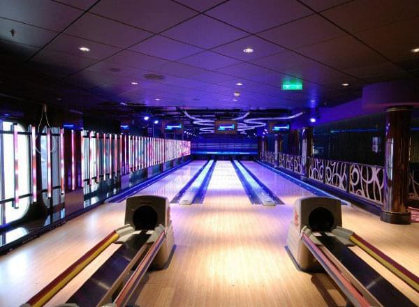 Mini Bowling on Carnival Vista