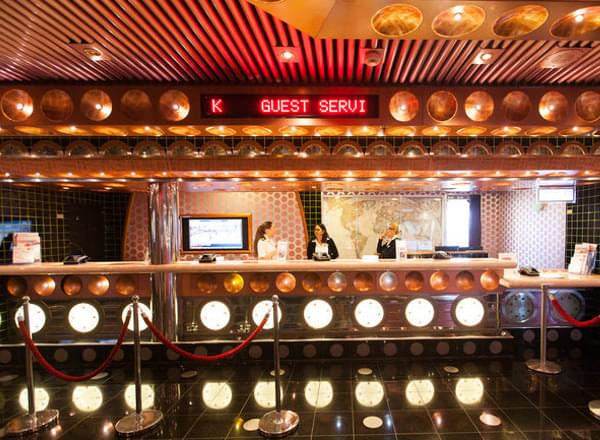 Guest Services on Carnival Vista