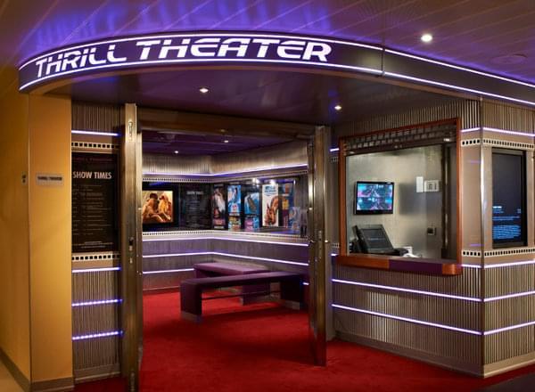 Thrill Theater on Carnival Vista