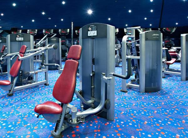 Fitness Center on Carnival Vista