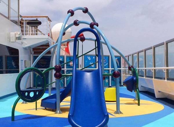 Outdoor Playground on Carnival Vista