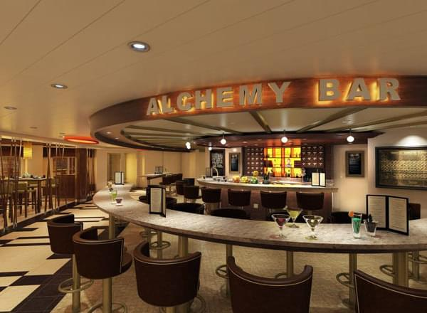 Alchemy Bar on Carnival Vista