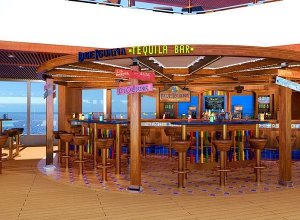 Blue Iguana Tequila Bar on Carnival Vista