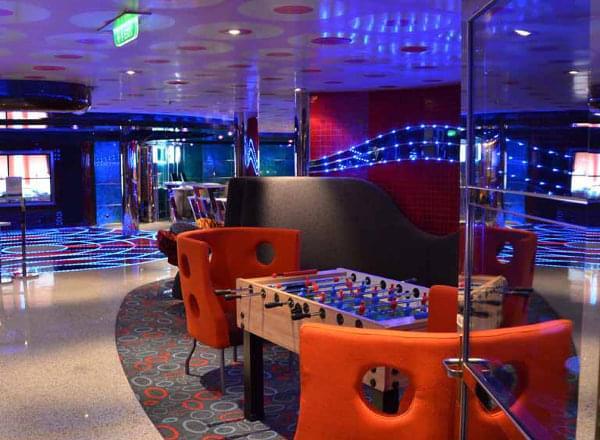Club O2 on Carnival Vista