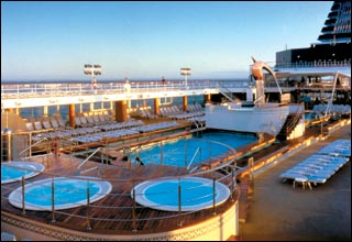 Seaside Pool on Celebrity Constellation