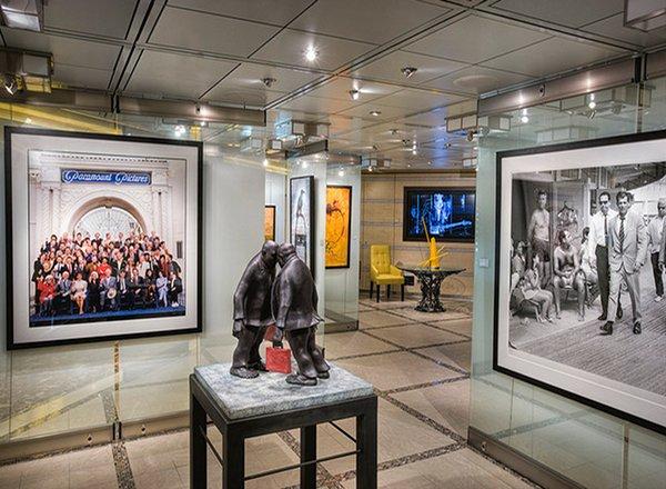 Art Gallery on Celebrity Eclipse