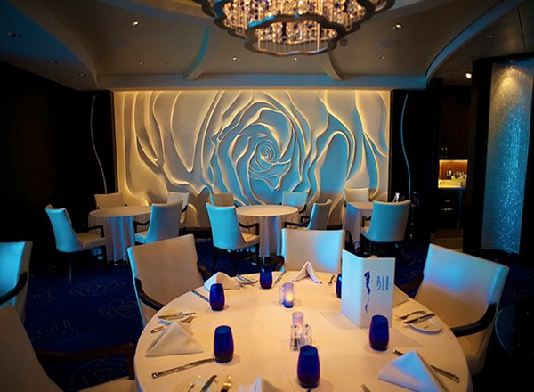 Celebrity reflection cuisine