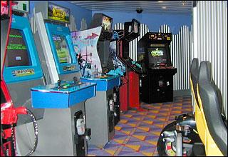 Arcade on Celebrity Equinox