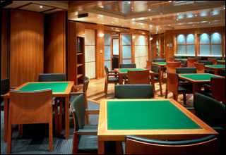Card Room on Celebrity Equinox