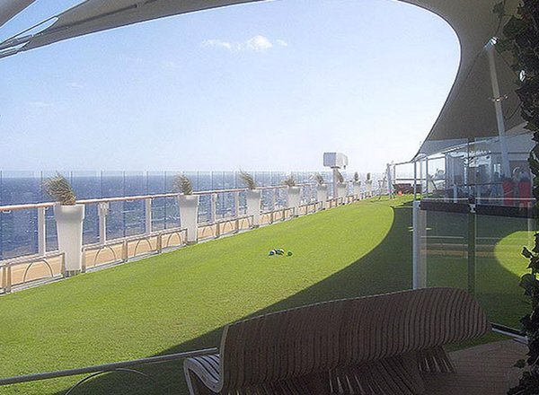Lawn Bowling on Celebrity Equinox