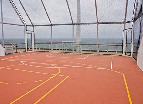 Basketball Court on Celebrity Infinity