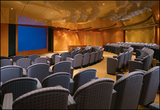 Cinema and Conference Room on Celebrity Millennium