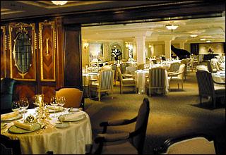 Olympic Restaurant on Celebrity Millennium