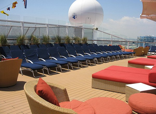 Solstice Deck on Celebrity Silhouette